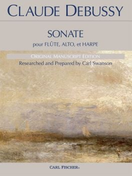 Sonate pour Flute, Alto et Harpe - Claude Debussy