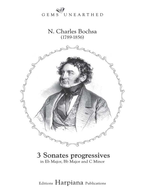 Three Progressive Sonatas - N. C. Bochsa