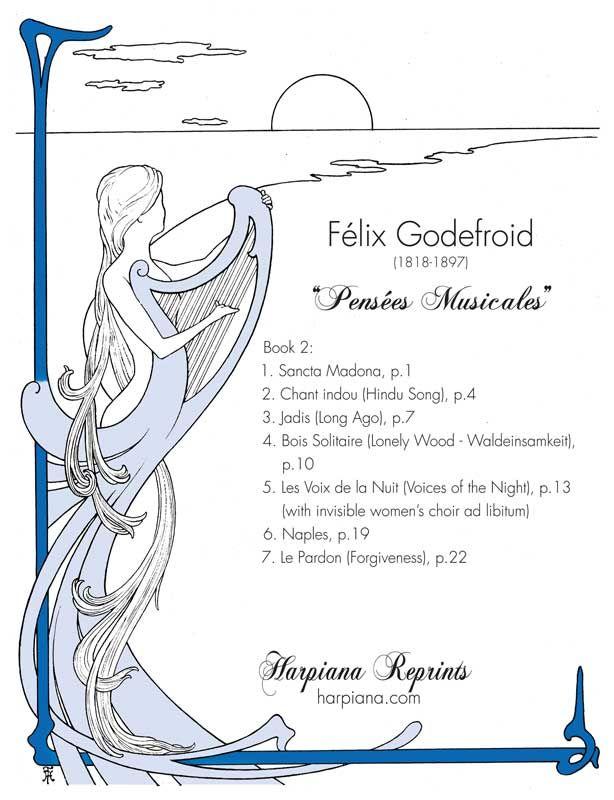Pensées Musicales, Book 2 - Felix Godefroid