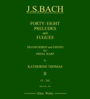 Forty-Eight Preludes and Fugues [Book 2 - BWV 870-893] - J.S.Bach