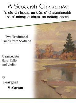 A Scottish Christmas - Trio for Harp, Cello & Violin - Fearghal McCartan (Digital)
