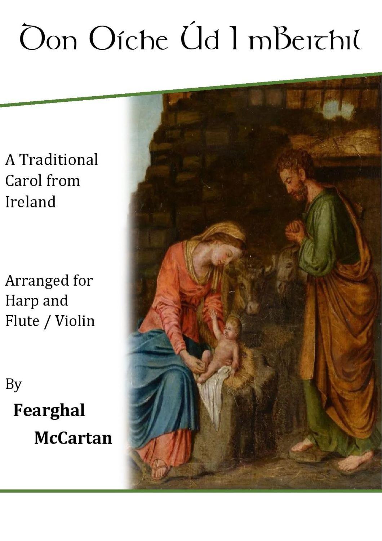 Don Oíche Úd I mBeithil - Harp & Flute or Violin - Fearghal McCartan (Digit