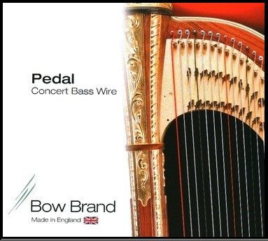 Bow Brand Standard Pedal Wire Strings 5th Octave