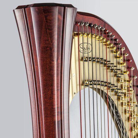 <!-- 011 -->Daphne 47 String Pedal Harp - String Set Options