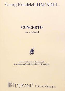Concerto in B Flat - Haendel transcribed for Harp by Marcel Grandjany