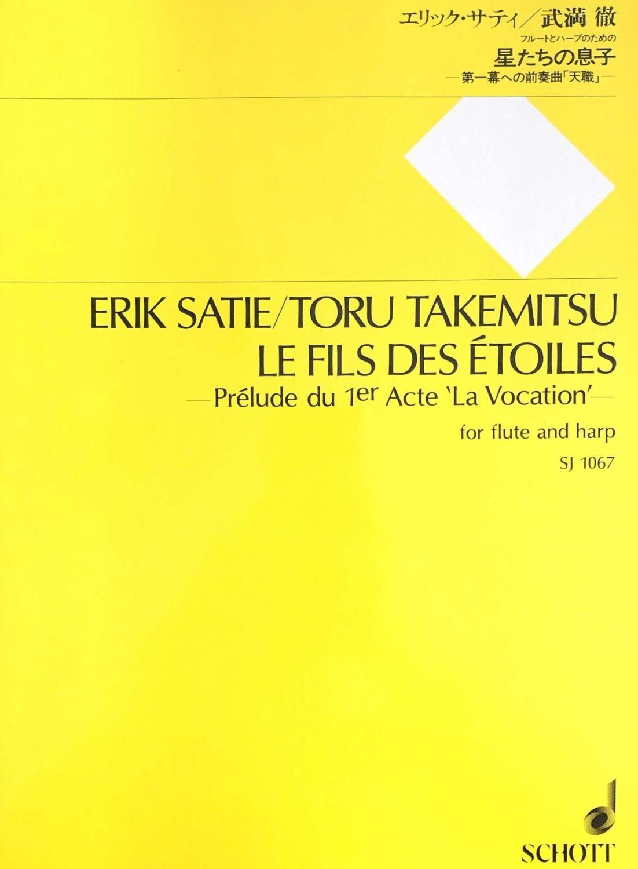 Takemitsu, T. - Le Fils des Étoiles (Satie) Flute & Harp