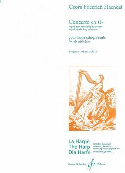 Handel - Concerto in B Flat - for Celtic Harp