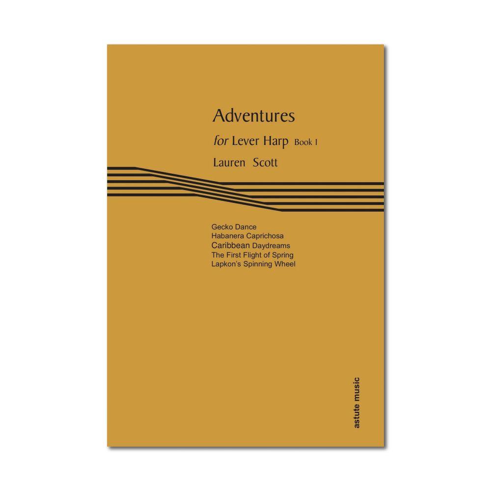 Adventures for Lever Harp Book 1 - Lauren Scott