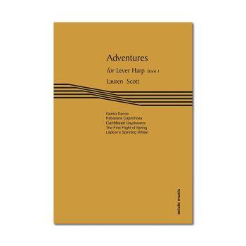 Adventures for Lever Harp Book 1 - Lauren Scott (Digital)