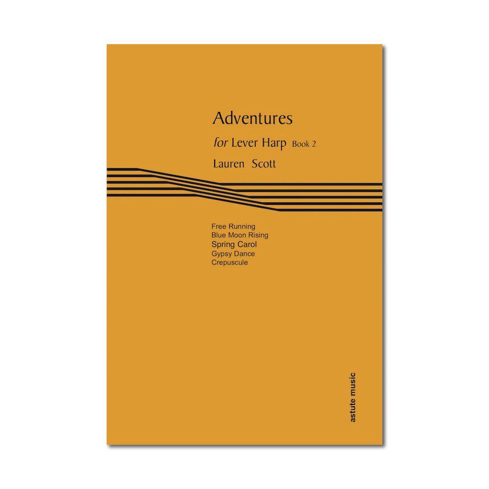 Adventures for Lever Harp Book 2 - Lauren Scott