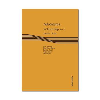 Adventures for Lever Harp Book 2 - Lauren Scott (Digital)