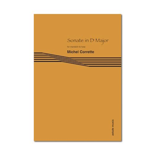 Sonate in D Major for Mandolin & Harp - Michael Corrette (Digital Download)