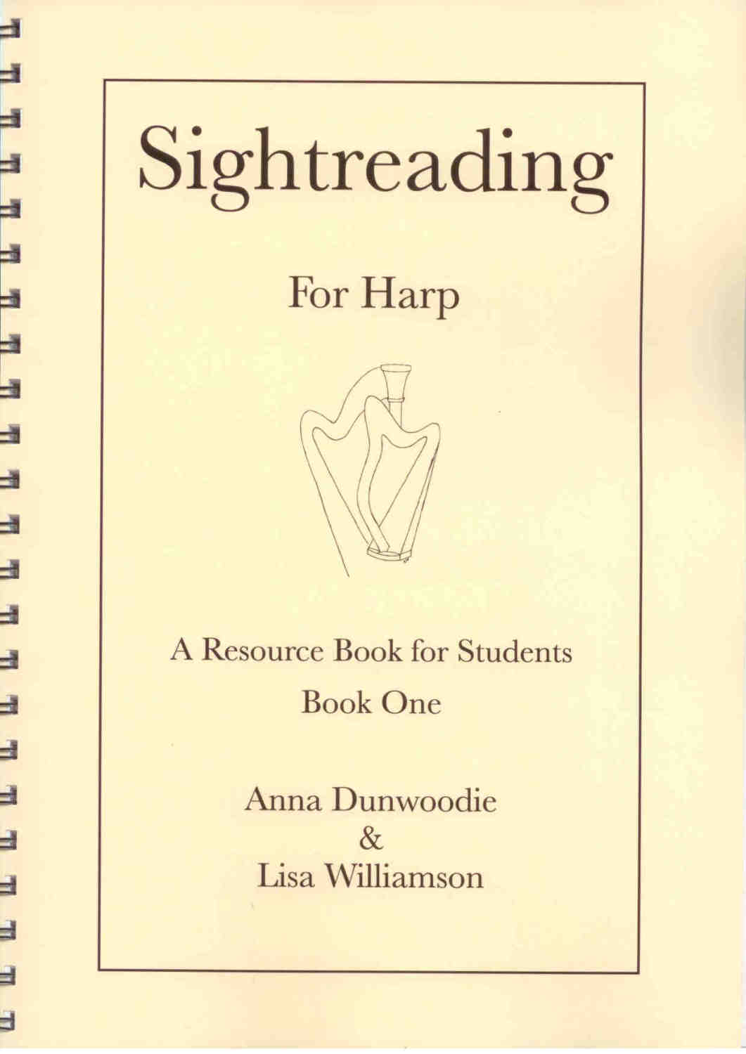 Sightreading for Harp: Book 1 - A. Dunwmoodie, L. Williamson