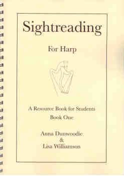 Sightreading for Harp: Book 1 - A. Dunwoodie, L. Williamson
