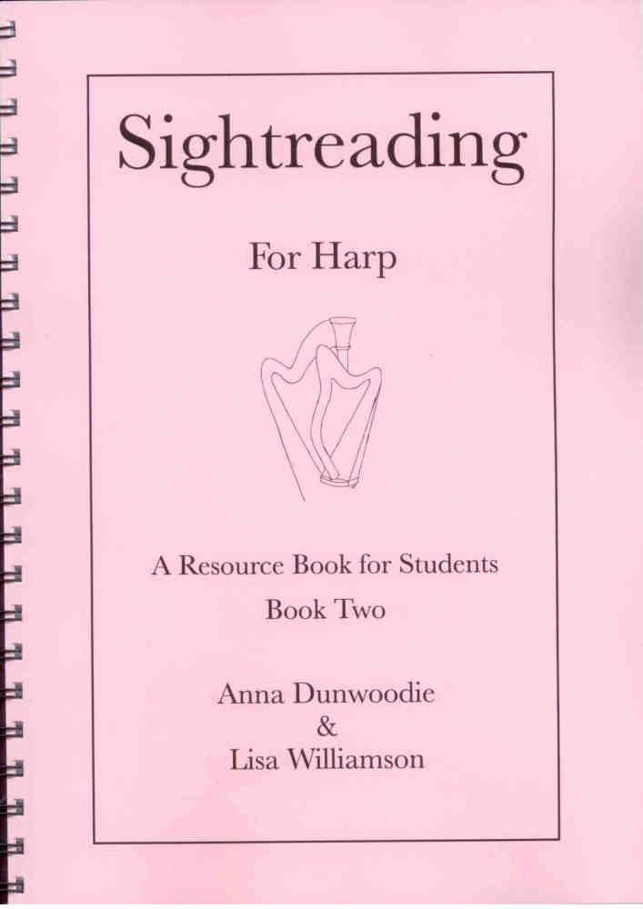Sightreading for Harp: Book 2 - A. Dunwoodie, L. Williamson