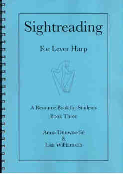 Sightreading for Lever Harp: Book 3 - A. Dunwoodie, L. Williamson