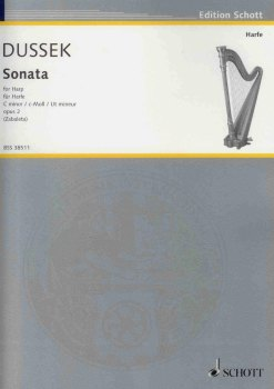 Sonata in C Minor op. 2 - Dussek, S.G