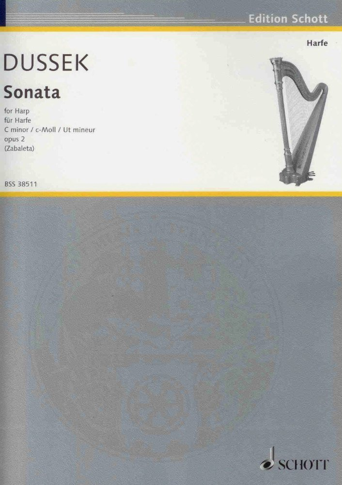 Sonata in c minor opus 2 - Dussek, S. G