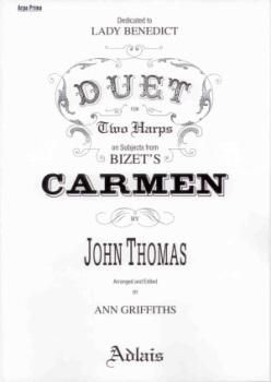 Carmen: Duet for Two Harps - Bizet