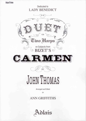 Carmen: Duet for Two Harps - Bizet