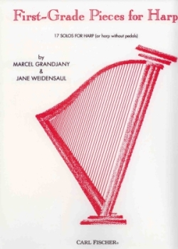 First Grade Pieces for Harp - Marcel Grandjany & Jane Weidensaul