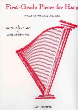 First Grade Pieces for Harp - Marcel Grandjany & Jane Weidensaul