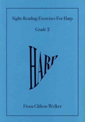 Sight-Reading Exercises for Harp (Grade 2) - Fiona Clifton-Welker