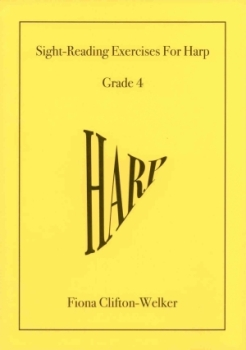 Sight-Reading Exercises for Harp (Grade 4) - Fiona Clifton-Welker