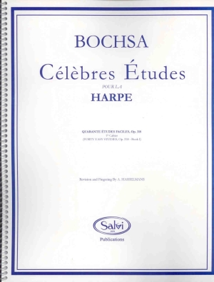 40 Easy Studies, Op. 318: Book 1 - Bochsa, R.N.C.