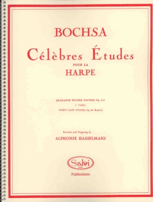 40 Easy Studies, Op. 318: Book 2 - Bochsa, R.N.C.