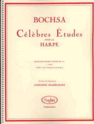 40 Easy Studies, Op. 318: Book 2 - Bochsa, R.N.C.