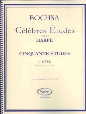 50 Studies, Op.34: Book 1 - Bochsa, R.N.C.