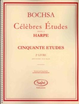 50 Studies, Op.34: Book 2 - Bochsa, R.N.C.