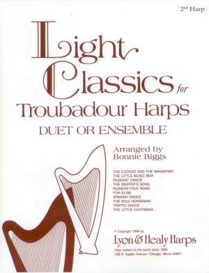 Light Classics for Troubadour Harps - B. Biggs