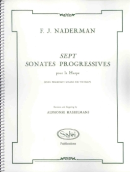 Sept Sonates Progressives - F.J. Naderman