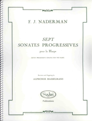 Sept Sonates Progressives - F.J. Naderman