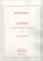 Concerto Cadenzas - W.A. Mozart / Rota
