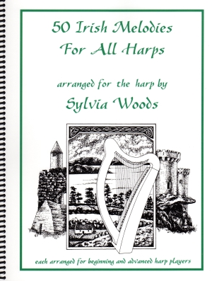 50 Irish Melodies for All Harps - S. Woods