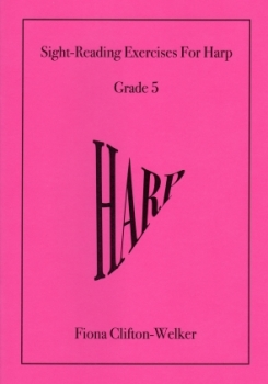 Sight-Reading Exercises for Harp (Grade 5) - Fiona Clifton-Welker