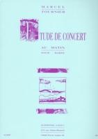 Etude de Concert (Au Matin) - M. Tournier