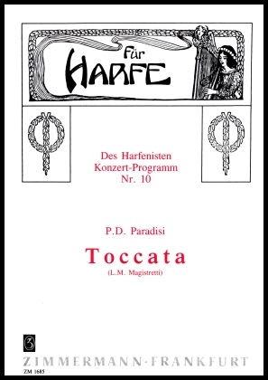 Toccata by P.D Paradisi