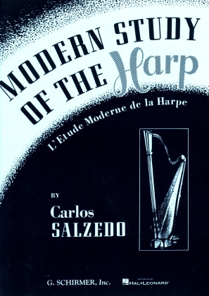 Modern Study for the Harp By Carlos Salzedo