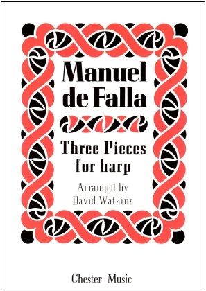 Three Pieces for Harp by Manuel de Falla