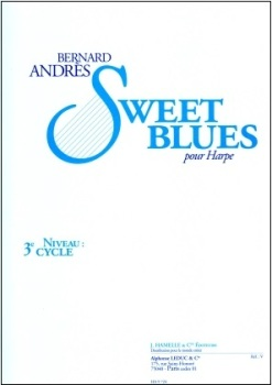 Sweet Blues for Harp by Bernard Andres