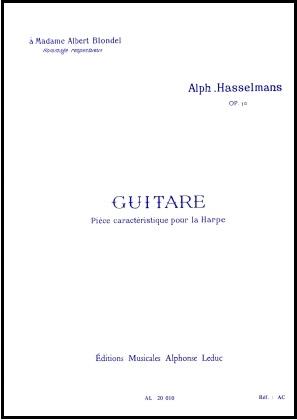 Guitare Op.50 - Alphonse Hasselmans