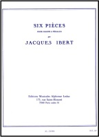 Six Pieces - Jacques Ibert