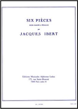 Six Pieces - Jacques Ibert