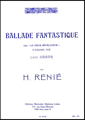 Ballade Fantastique Pour Harp - Henriette Renie