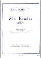 Six Etudes Pour Harpe - Eric Schmidt