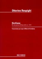 Siciliana by Ottorino Respighi